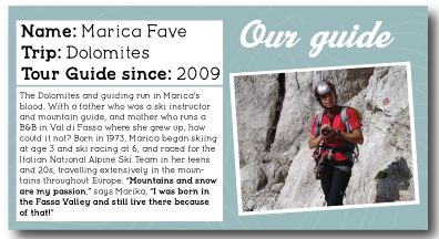 Dolomites Guide Profile