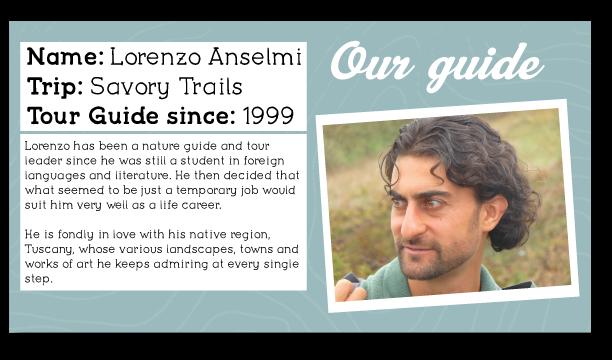 Lorenzo Tuscany Guide Profile