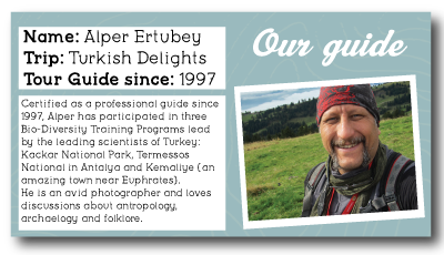 Turkey Guide Alper Profile