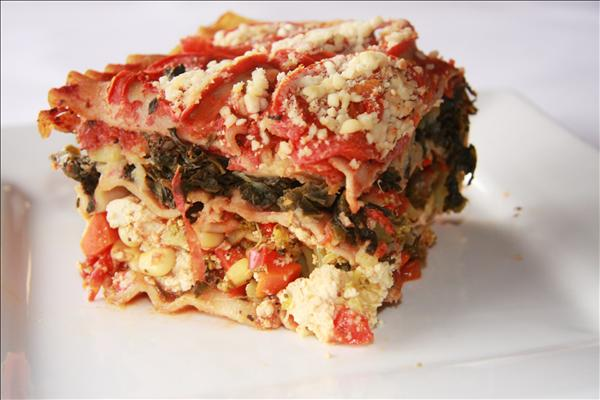 Sweet potato veggie lasagna whole food recipes raise the roof sweet potato vegetable lasagna forumfinder Image collections