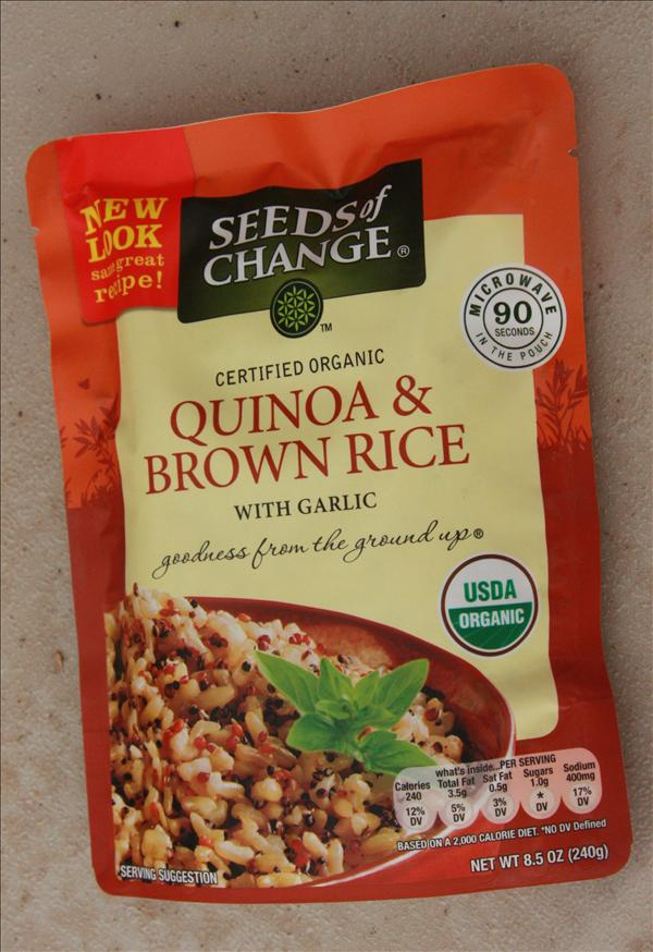 Quinoa  amp  Brown Rice w GarlicQuinoa Rice Costco