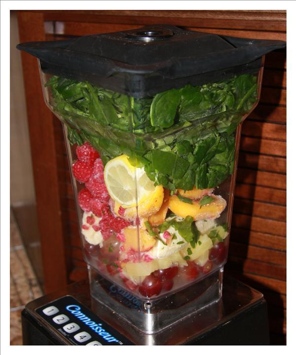 Green fruit smoothie whole food recipes forumfinder Choice Image