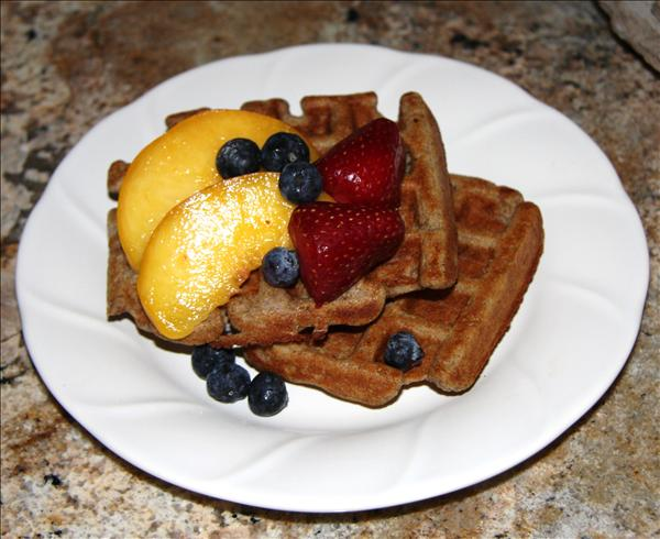 Whole Grain Blender Waffles