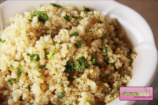 Cilantro Lime Quinoa Whole Food Recipes