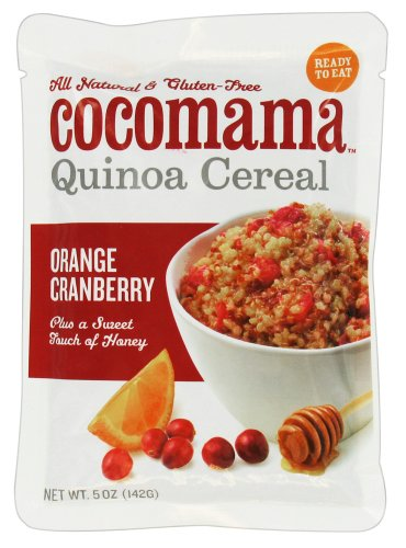 Wholeshare: CocoMama Quinoa Cereal Orange Cranberry --