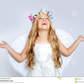 Children-angel-girl-looking-up-sky-open-hands-20891307