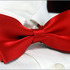Awesome_silk_fell_solid_red_men's_tuxedo_bow_tie_b186