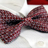 Chain_pattern_wine_tuxedo_mens_bow_tie_b222