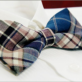 Multi-color_checked_luxury_men's_tuxedo_bow_tie_b455