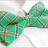 Turquoises_unique_checked_men's_tuxedo_bow_tie_b672