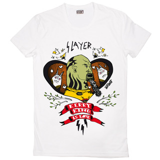 Kerry-king-is-love-unisex-white