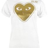 Comme-des-garcons-play-womens-az-t131-white-and-gold-t-shirt-1