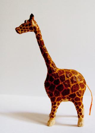 Жираф своими руками с детьми 23