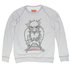 Tolstoy-paravoz-unisex-melange-sweatshirt
