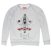 Osho-unisex-melange-sweatshirt