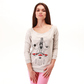 Osho-female-melange-sweatshirt