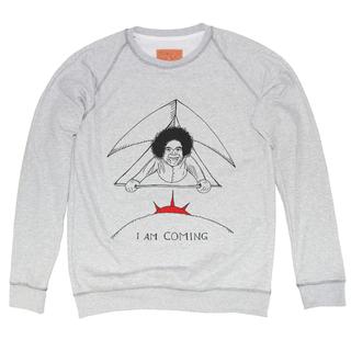 Fly-baba-fly-unisex-melange-sweatshirt