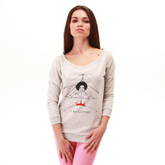 Fly-baba-fly-female-melange-sweatshirt