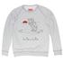 Krishnamurti-unisex-melange-sweatshirt