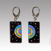 Happy_vinyl-earrings