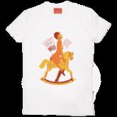 Whores-horse-unisex-white
