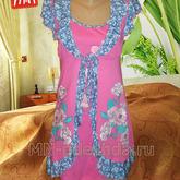 Domashnij-komplekt-rozovogo-cveta-iz-kulirki-100-hlopka-razmery-50-52-54
