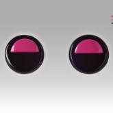 Rose-half-earrings