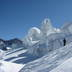Impressive glacial structures