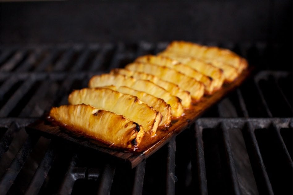 cedar-pineapple-plank-grill