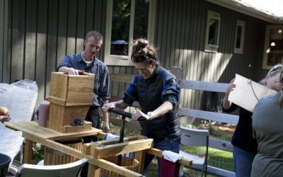 Apple Cider Pressing Parties: A Sure Sign Fall is Finally Here!