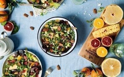 Red Oak Planked Winter Citrus Salad Recipe