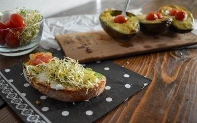 Alder Planked Avocados Recipe
