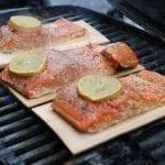 Cedar Planked Lemon Pepper Salmon Recipe