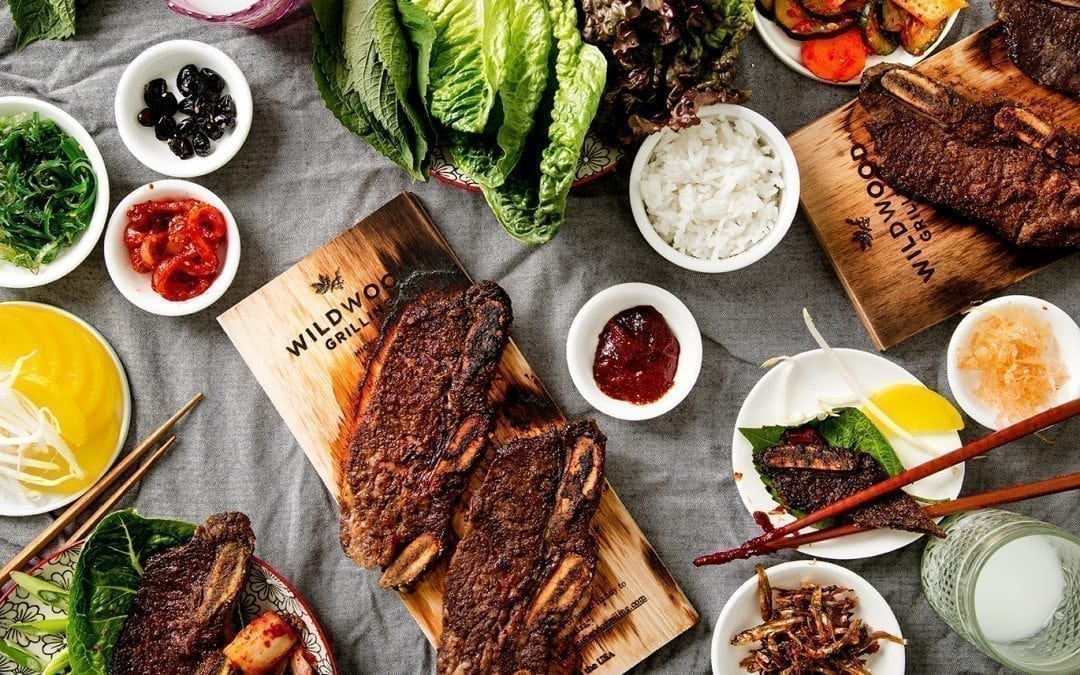 Hickory Planked Korean Short Ribs Recipe