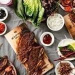 Hickory Planked Korean Short Ribs Recipe
