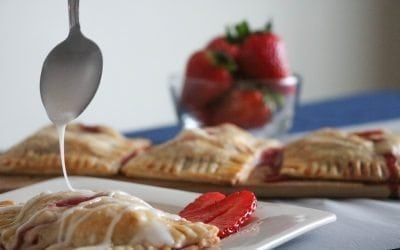 Cherry Planked Strawberry Hand Pies