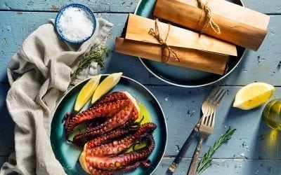 Cedar Wrapped Octopus Recipe