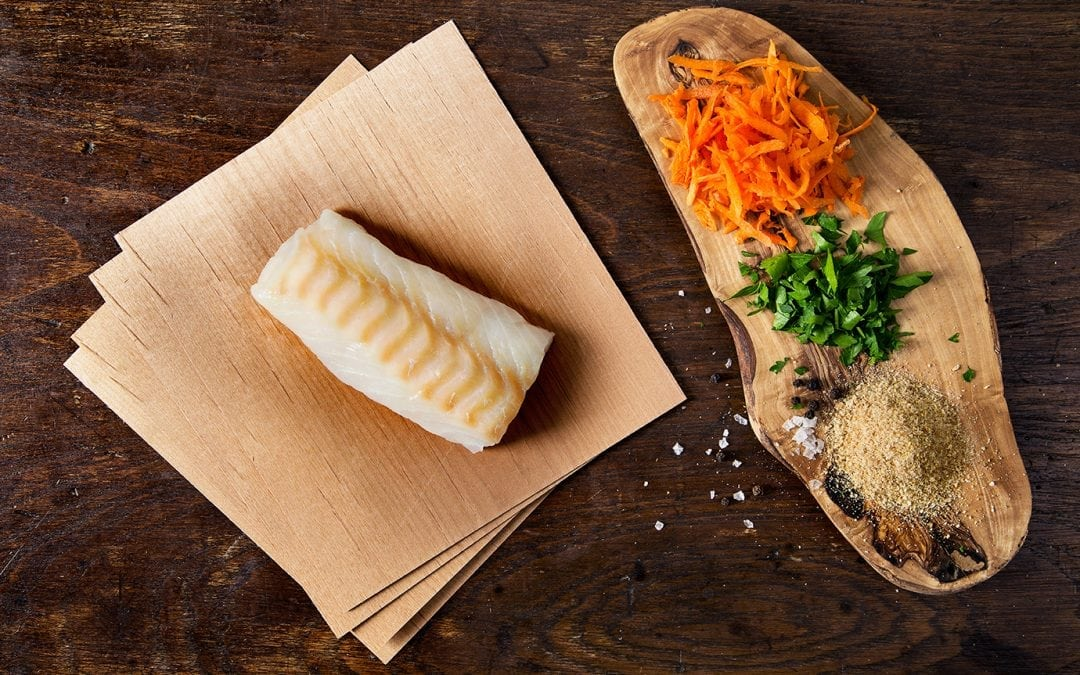 Alder Wrapped Cod Recipe