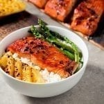 Cedar Planked Teriyaki Salmon Recipe