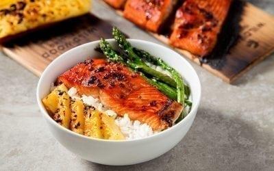Cedar Planked Teriyaki Salmon Recipe