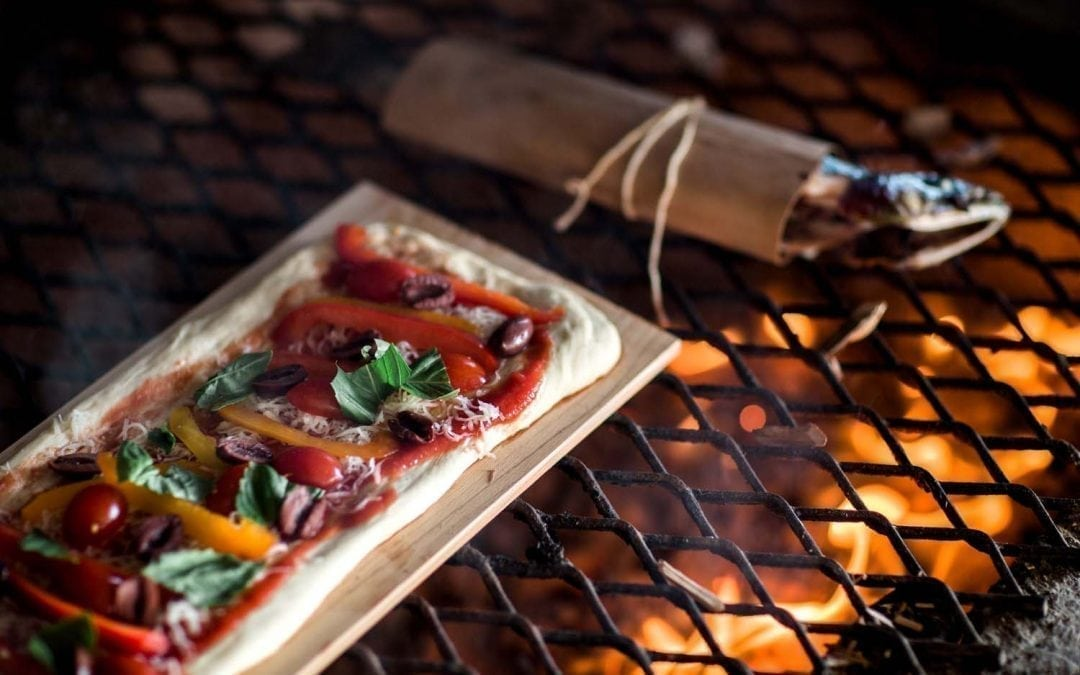 Smoked, Wood-Fired Pizza Recipe