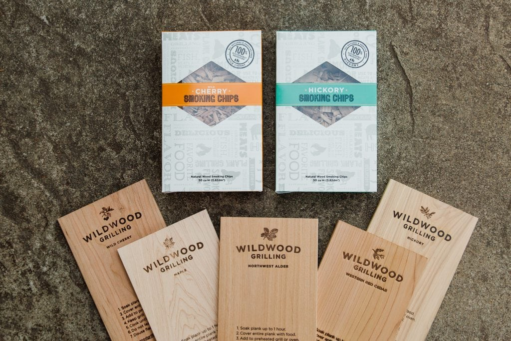 Grilling Gift Set Planks Smoking Chips