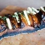 Alder Planked Potato, Maple Smoked Butter and Gremolata Recipe