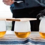 Cherry Smoked Hot Buttered Bourbon Recipe