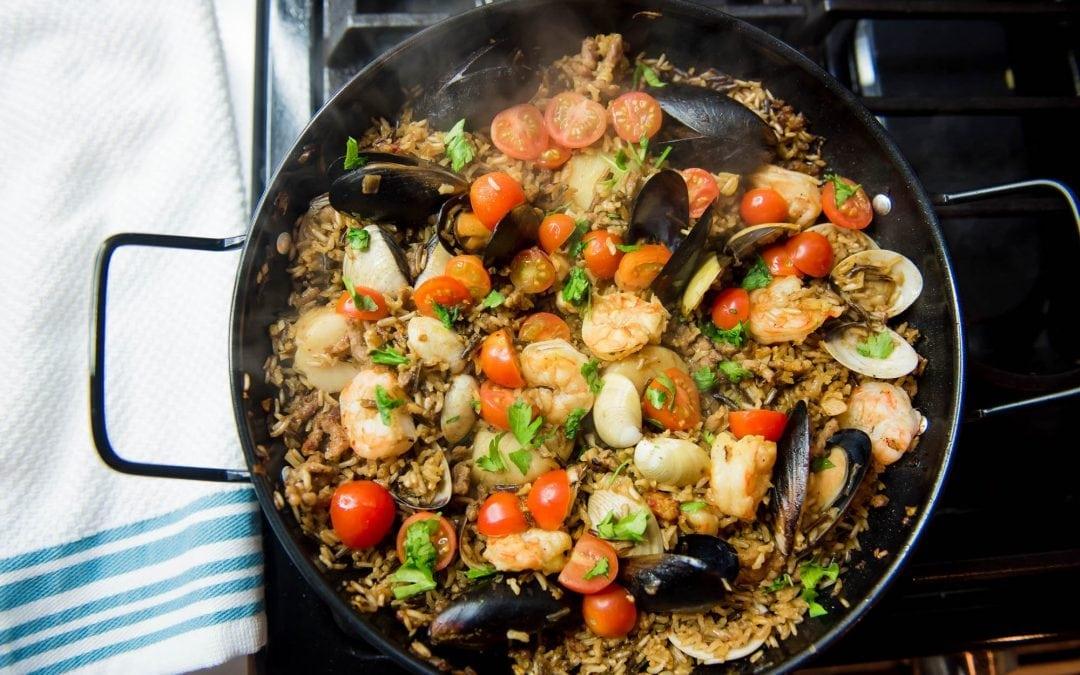 Northwest Seafood Paella
