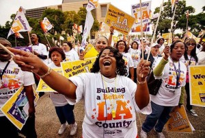 LA Times-LA County Rally-9-29-09