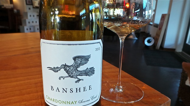 2013 Banshee Chardonnay - Sonoma Coast	($25) 89 points