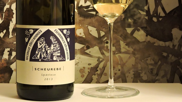 2013 Theo Minges Scheurebe Spätlese ($25) 91 points