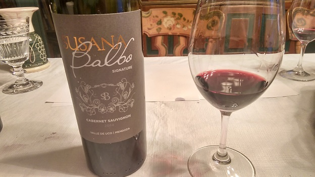 2014 Susana Balbo Signature Cabernet Sauvignon ($25) 91 points