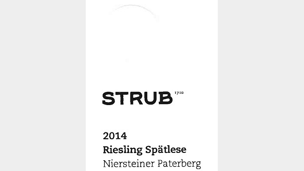 2014 Walter Strub Niersteiner Paterberg Riesling Spätlese ($20) 90 points